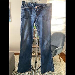 Earnest Sewn boot cut jeans